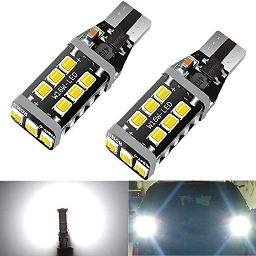 HX CQHY 921 Led Car Bulb Canbus No Error T15 Led Bulbs W16W 906 Led 912 Bulbs Upgraded 15 smd product image