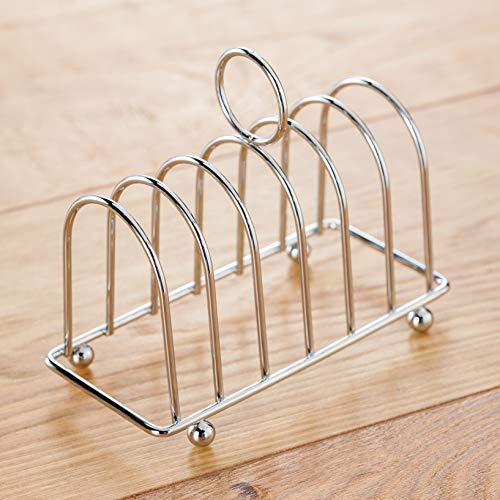 Judge 6 tranches Toast Rack, Argent