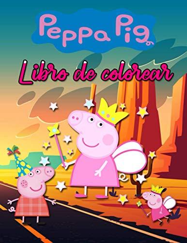 Libro de colorear de Peppa Pig: Charcos de barro de Peppa Pig + 40 imágenes Libro de colorear Ayude a los niños a estimular la imaginación: | Tamaño 8,5 x 11 pulgadas