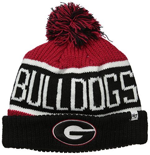georgia bulldog knit hat - 3