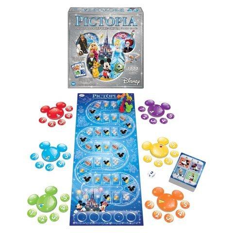 Disney New Pictopia Family Picture-Trivia Game