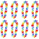 Redstar Fancy Dress - Pack de 12 Collares de Flores Hawaianos - para Despedidas de Soltero/a