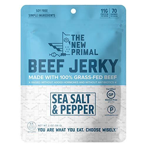Sea Salt & Pepper 100% Grass-Fed Beef (8 Bags)