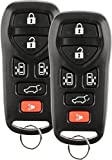Discount Keyless Entry Remote Control Replacement Car Key Fob For Nissan Quest KBRASTU51 (2 Pack)