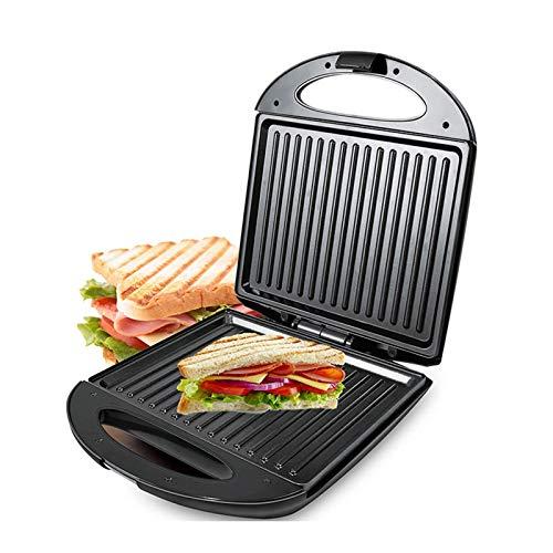 Multifunción Huevos eléctricos Sandwich Maker Non Stick Pan Grill Waffle Crepe Toaster Pancake Horneando Máquina de desayuno 140 Jialele