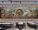 Tapete Foto Poster Riesenwand Ktv Disco Dekoration Hotel Dekoration Hintergrund Wand Industriestil...