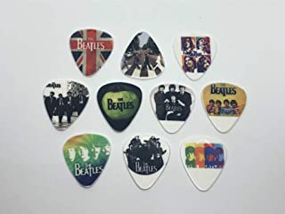 BEATLES Guitar Picks Set (10 picks/10 diferent designs)