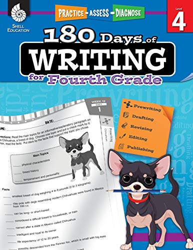 Compare Textbook Prices for 180 Days of Writing for Fourth Grade - An Easy-to-Use Fourth Grade Writing Workbook to Practice and Improve Writing Skills 180 Days of Practice 1 Edition ISBN 9781425815271 by Kristin Kemp