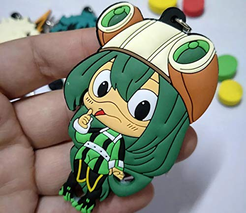 Good Friend mha Keychain bnha Keychain My Hero Academia Keychain can be Used for Keychains, School Bags, Collectibles, etc.