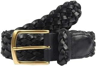 Dents Men's Heritage Hand Plaited Leather Belt