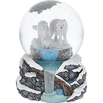 Nemesis Now White Warriors of Winter Lisa Parker Snowglobe 14.5cm Resin and Glass