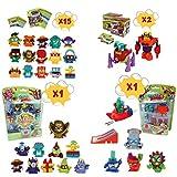 SuperZings Serie 3 – Blíster Pack 10 SuperZings con 1 Dorado; Blíster Pack 5 SuperZings con 1 Platea...
