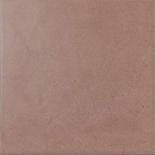 Nais Cerámica para suelos y paredes Colección Antiqua (20x20 cm) - Caja de 1 m2 (25 piezas), Rose