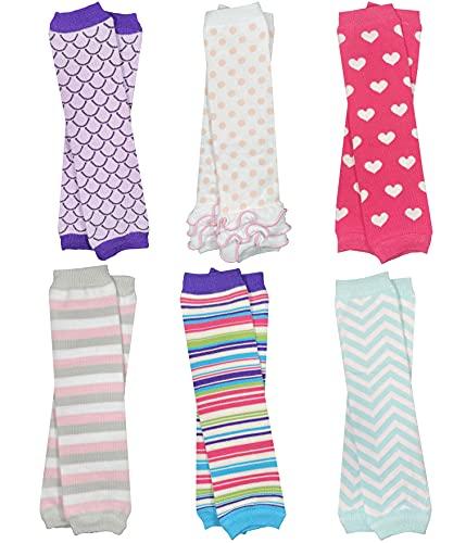 6 Pack of Girls juDanzy Leg Warmers
