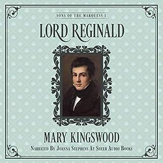 Lord Reginald audiobook cover art