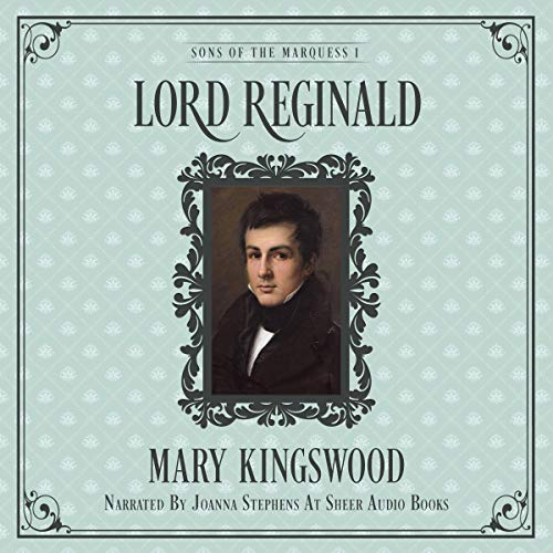 Lord Reginald audiobook cover art