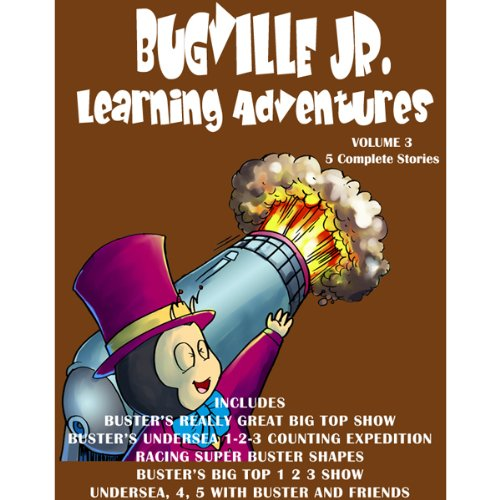 Bugville Jr. Learning Adventures Collection #3 audiobook cover art