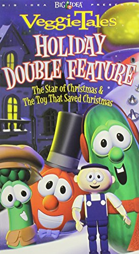VeggieTales Holiday Double Feature - The Toy That Saved Christmas / The Star of Christmas [VHS]