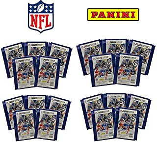 2019 Panini NFL Football Stickers - 20 Packs Look for Patrick Mahomes, Tom Brady, Kyler Murray, Baker Mayfield, Aaron Rodgers & More!