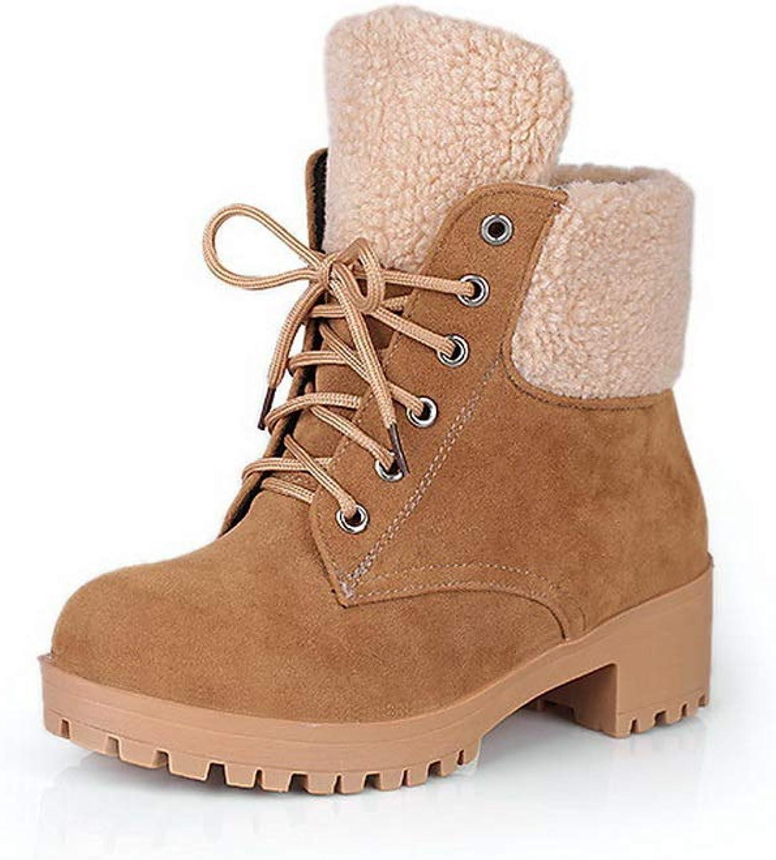 BalaMasa Womens Novelty Solid Fringed Urethane Boots ABL10710
