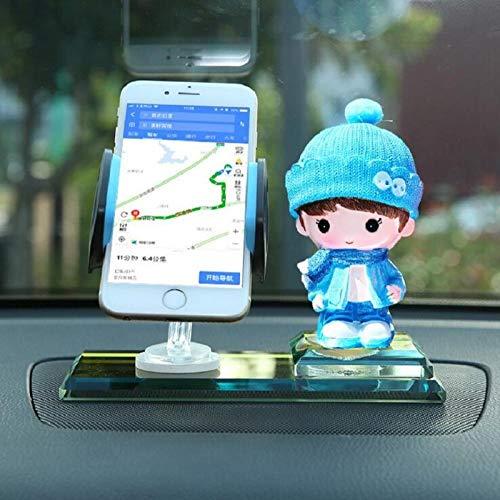 GangKun autohouder voor mobiele telefoons, sieraden, voor binnen, schattig, creatief 1 exemplaar