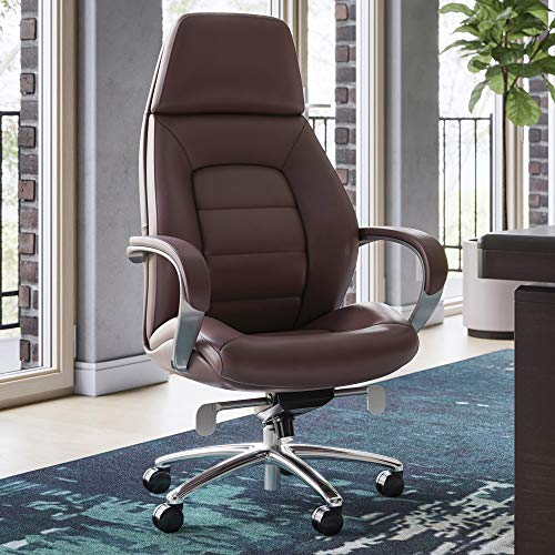 Gates Genuine Leather High Back Executive Chair