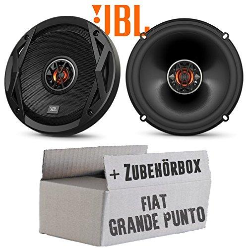 Lautsprecher Boxen JBL Club 6522 | 2-Wege | 16cm Koax Auto Einbauzubehör - Einbauset für FIAT Grande Punto 199 Front - JUST SOUND best choice for caraudio