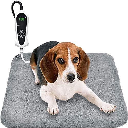 SCIDS Riscaldamento per animali domestici Elettrico Cane Gatto Pad Indoor Impermeabile, Forniture per gatti e cani Temperatura costante Tenere al caldo In Inverno Coperta Elettrica Materassi