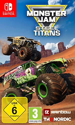 Monster Jam Steel Titans [Nintendo Switch]