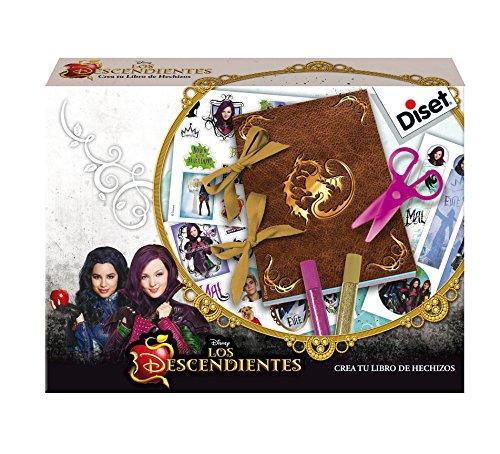Los Descendientes de Disney-Los Descendientes Diario Creativo (Diset 46586)