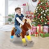 PonyCycle ® Boutique Officielle Jouet Prime K Série - Balade sur Cheval Brun Medium K42