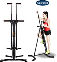 PEXMOR Upgraded Vertical Climber, Folding Climbing Machine for Home Gym Fitness, Stepper Climber Exercise Machine, Adjustable Height with LCD Display 2.0