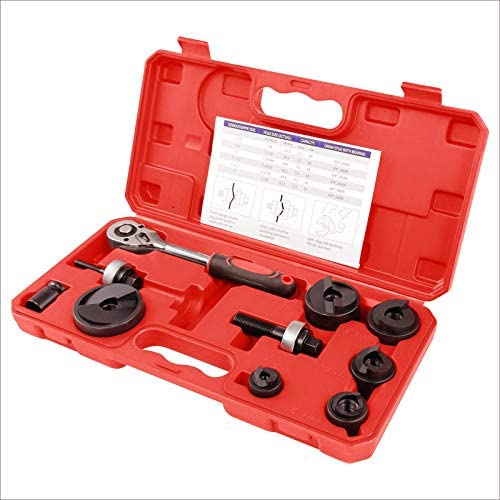 IBOSAD Manual Knockout Hole Punch Driver Kit 1 2 to 2 inch Electrical Conduit Hole Cutter Set product image