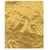 Juvale Gold Foil Candy Wrappers (6 x 7.5 in, 100 Pack)
