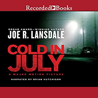 Cold in July audiobook cover art