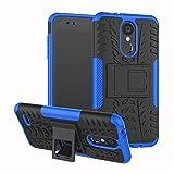 SCIMIN LG K9 Case, LG K9 Hybrid Case, Dual Layer Shockproof