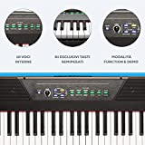 Zoom IMG-1 alesis recital 61 piano digitale