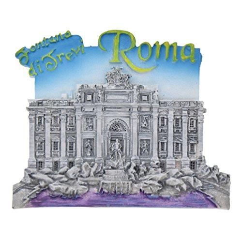 Kesheng Aimant Frigo Trevi Fontaine Souvenir Voyage Rome Cuisine Accessoire