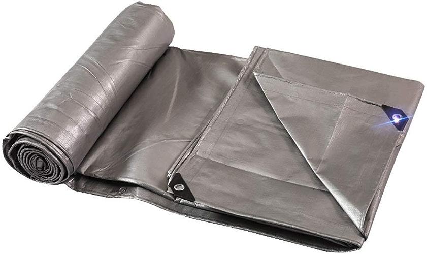 ATR Tente extérieure bache de Camping bache de Camping imperméable bache de Prougeection UV (Couleur  épaississement, Taille  4 \u0026 Fois; 6m)