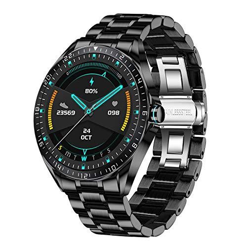 Smartwatch da Uomo LIGE, IP68 Impermeabile Sport Fitness Tracker Orologi Frequenza Cardiaca Monitor Della Pressione Sanguigna Touch Screen Contapassi Calorico Orologio Intelligente IOS Android