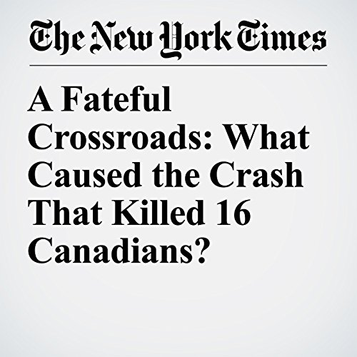 A Fateful Crossroads: What Caused the Crash That Killed 16 Canadians? copertina