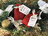 Nuluv Lump Of Coal Christmas Stocking Soap, Pack of 6 - Goat Milk Bar Soap, Powerful Natural Cleanser - Made in USA - Ecofriendly