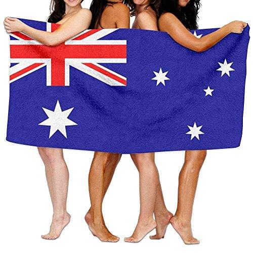 New Shorts Toalla de Playa para Piscina, Yoga, Pilates, Picnic, de la Bandera de Australia, de 203 x 130 cm, Suave y Ligera, Absorbente