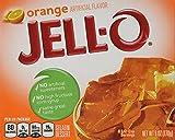 Jell-O Orange Gelatin Mix (6 oz Boxes, Pack of 6)