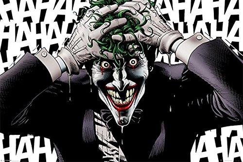 Close Up Póster Batman The Killing Joke/La Broma asesina [El Joker] (91,5cm x 61cm)