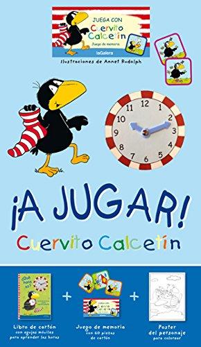 ¡A jugar!: Cuervito Calcetín