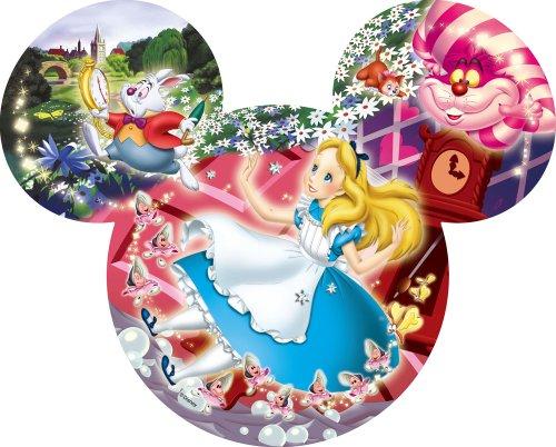151ピース ジグソーパズル ステンドアートシルエットギャラリー ディズニー アリスの出逢い
