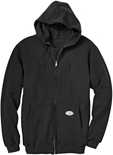 Mens Rasco Black FR Full Zip Hoodie