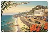 Pacifica Isl8in x 12in Visit Lahaina Maui Hawaii Metall