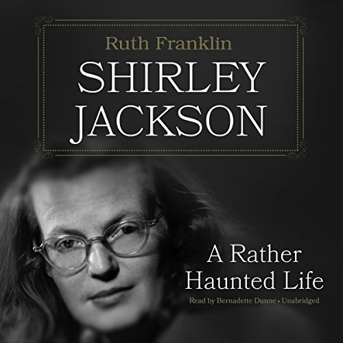 Shirley Jackson audiobook cover art